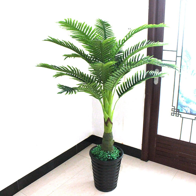 Artificial Plants Large Greenery 150cm Pteris Tree Bonsai Plastic Flower Faux Plants Artificial Trees For Home Decor Quasiflora